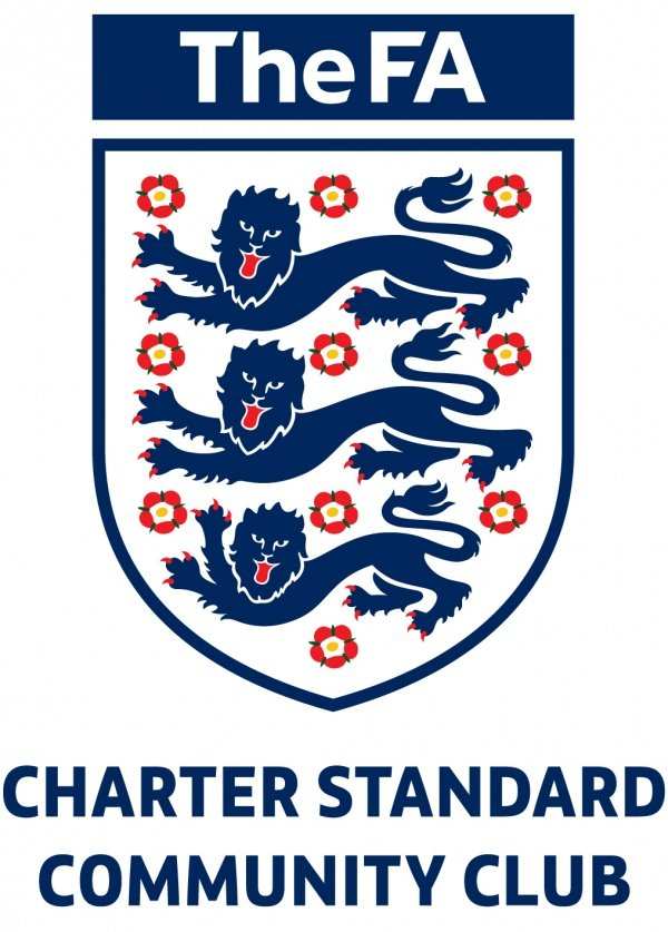 The FA charter standard community club logo